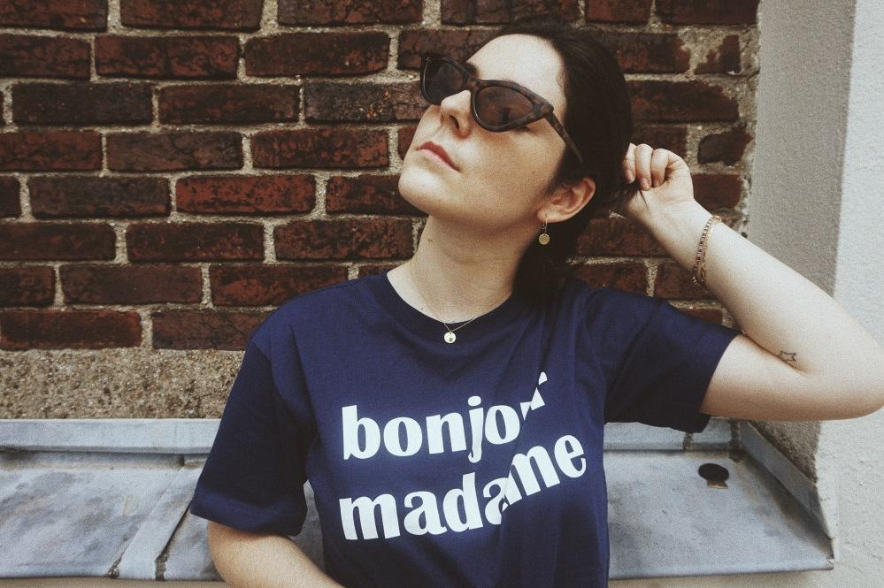 Monki BlondiBrunette Pauline Knaff