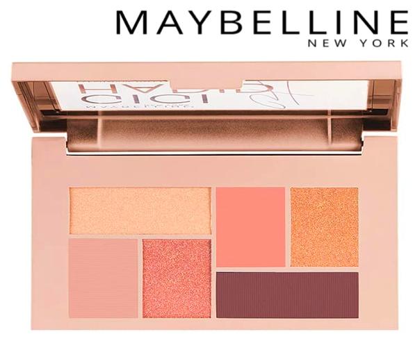 BlondiBrunette - 8 produits de beauté indispensables pour l'été - Maybelline x Gigi Hadid - Palette fards à paupières warm