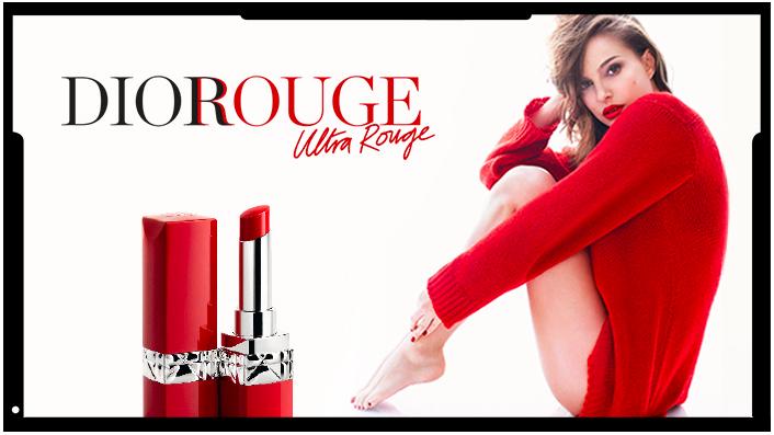 Nouveaux lipsticks - Rouge Dior Ultra Rouge - Kiss - Natalie Portman - BlondiBrunette