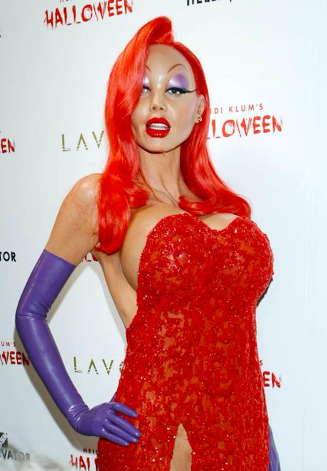 Heidi-Klum-BlondiBrunette-Halloween